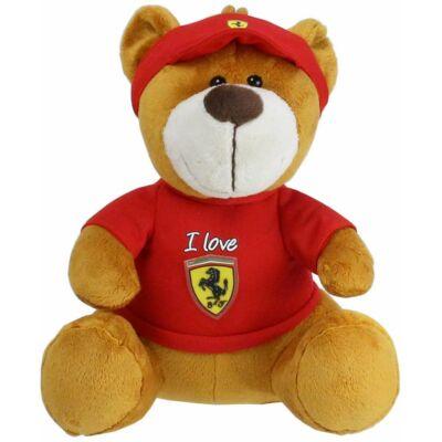 Ferrari plüss mackó - Tifosi Bear piros