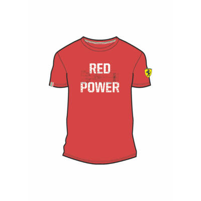 Ferrari póló - Red Power piros