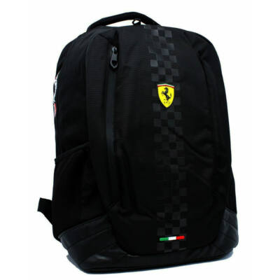 Ferrari hátitáska - Scudetto Backpack Large fekete