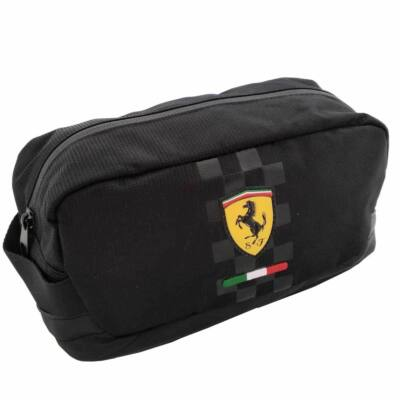 Ferrari tolltartó - Scudetto Zip Large fekete