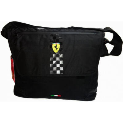 Ferrari válltáska - Scudetto Messenger fekete
