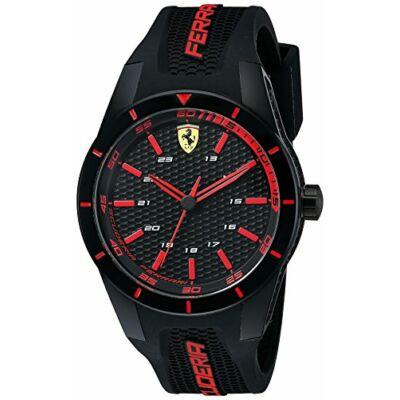 Ferrari óra - Small Red Rev fekete-piros