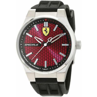 Ferrari óra - Speziale ezüst-piros