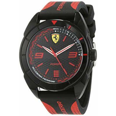 Ferrari óra - Forza fekete-piros