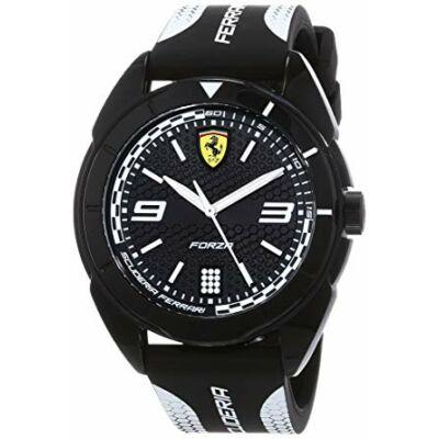 Ferrari óra - Forza fekete-fehér