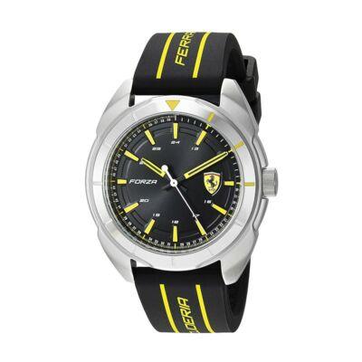 Ferrari óra - Forza fekete - sárga