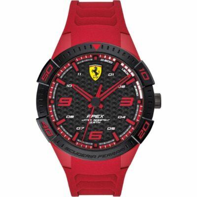 Ferrari óra - Apex piros-fekete