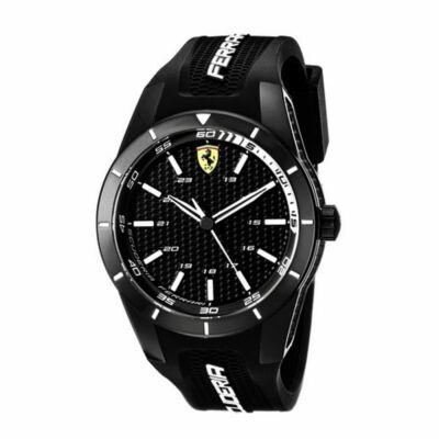 Ferrari óra - Pit Crew Double Logo, fekete
