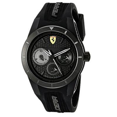 Ferrari óra - Red Rev T Chrono fekete