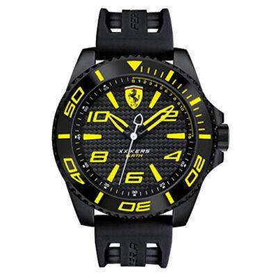 Ferrari óra - XX KERS Chrono fekete-sárga