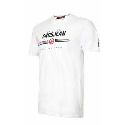 Haas póló - Romain Grosjean