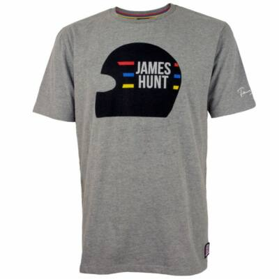 James Hunt póló - Helmet