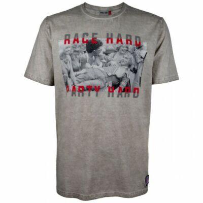 James Hunt póló - Race Hard Party Hard