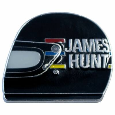 James Hunt kitűző - Helmet