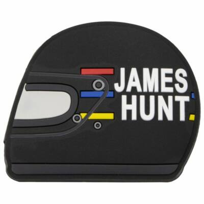 James Hunt hűtőmágnes - Helmet