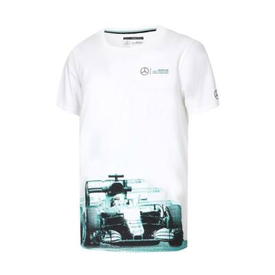 Mercedes AMG Petronas póló - F1 Car Graphic fehér