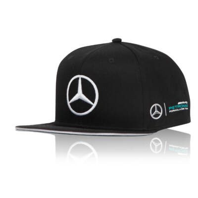Mercedes AMG Petronas sapka - Driver Lewis Hamilton Flatbrim fekete