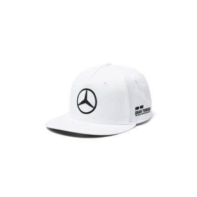 Mercedes AMG Petronas sapka -  Driver Hamilton Flatbrim White