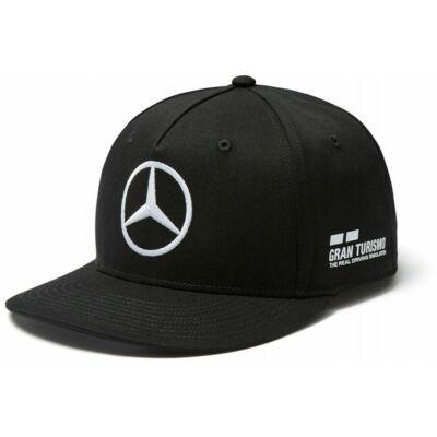 Mercedes AMG Petronas sapka - Hamilton Flatbrim Black