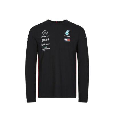 Mercedes AMG Petronas hosszú ujjú póló - Team Black