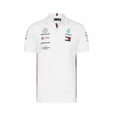 Mercedes AMG Petronas galléros póló - Team White