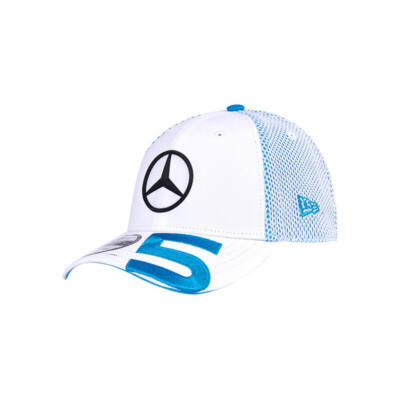 Mercedes AMG Petronas sapka - Number 5 fehér