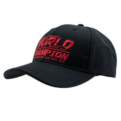 Schumacher sapka - World Champion fekete