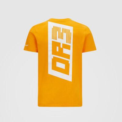 McLaren póló - DR 3 narancssárga