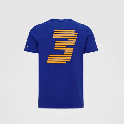 McLaren póló - DR 3 kék