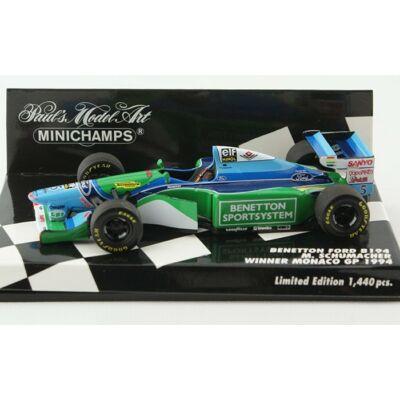 Benetton B194 GP - M. Schumacher Winner Monaco GP
