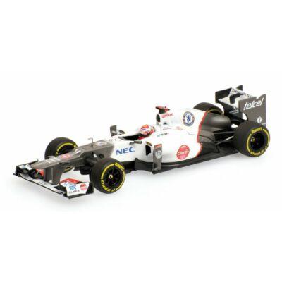 Sauber C31 - Kamui Kobayashi