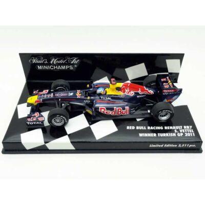 Red Bull RB7-S.Vettel ''Winner Turkish GP''