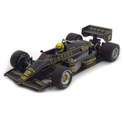 Lotus Renault 97T - Ayrton Senna