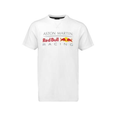 Red Bull Racing póló - Large Team Logo fehér