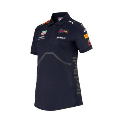 Red Bull Racing női galléros póló - Team