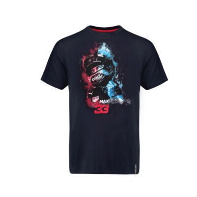 Red Bull gyerek póló - Verstappen Helmet