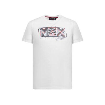 Red Bull Racing póló - Max fehér