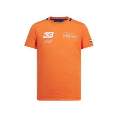 Red Bull Racing póló - Verstappen Oranje