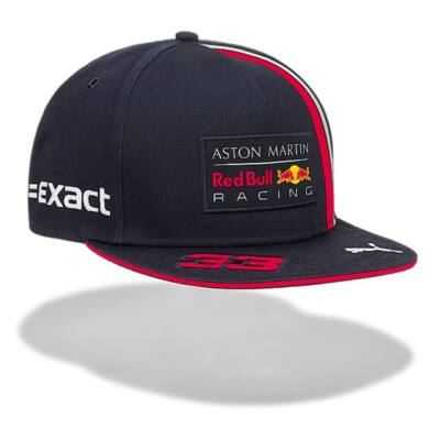 Red Bull Racing gyerek sapka - Driver Max Verstappen Flatbrim