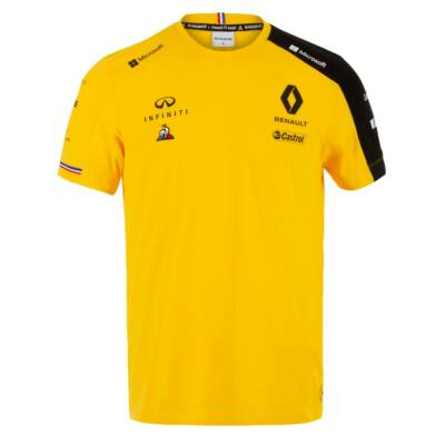 Renault F1 póló - Team Yellow