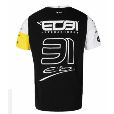 Renault F1 gyerek póló - Ocon