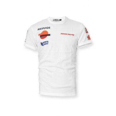 Repsol Honda póló - Scuba Slim Repsol, fehér
