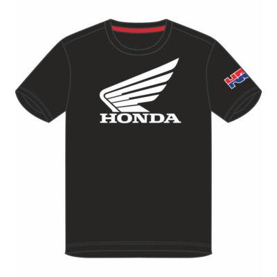 Repsol Honda póló - HRC Dual fekete