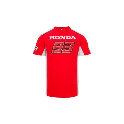 Honda póló - Dual Marquez piros