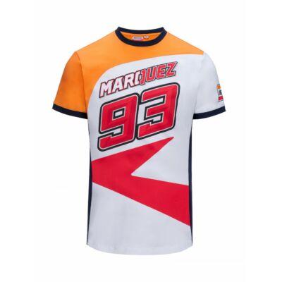 Repsol Honda póló - Racing Marquez fehér