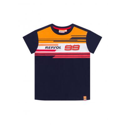 Repsol Honda gyerek póló - 99 kék