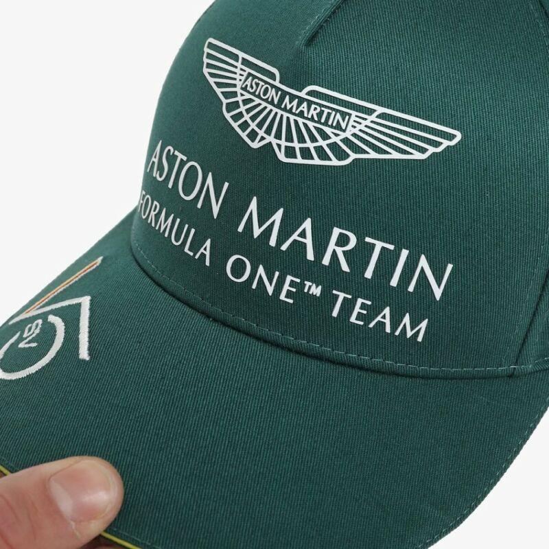 Aston Martin gyerek sapka - Sebastian Vettel zöld