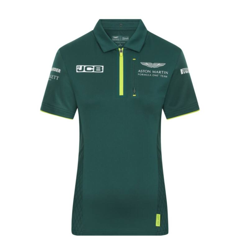 Aston Martin  női galléros póló - Team