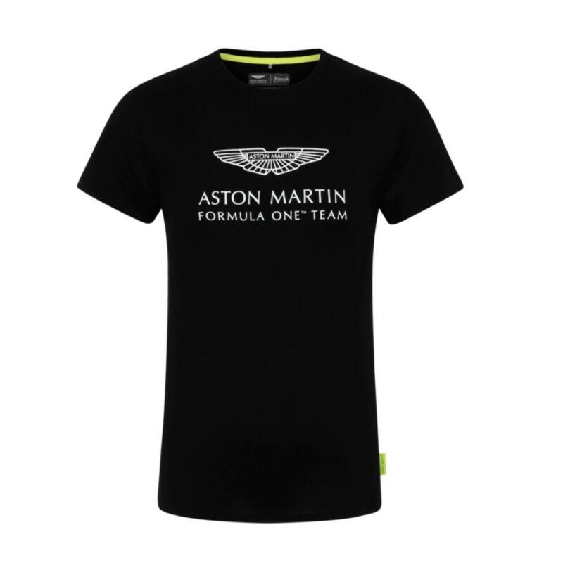 Aston Martin póló - Team Logo fekete