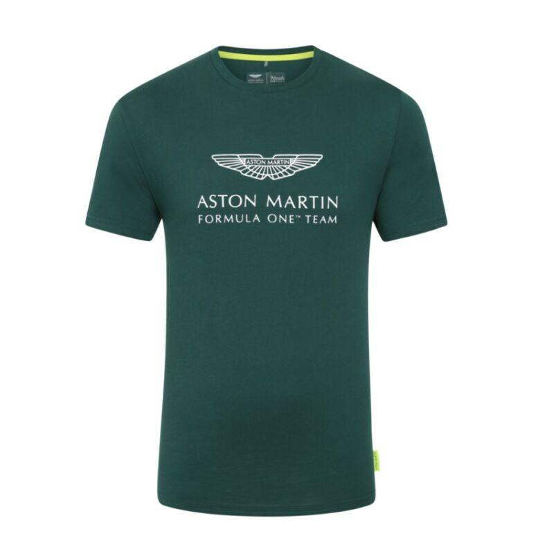 Aston Martin póló - Team Logo zöld